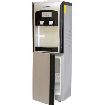 Aqua Work V90 серебристый электронный со шкафчиком